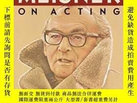 二手書博民逛書店Sanford罕見Meisner On Acting-桑福德·梅斯納談演技Y436638 Sanford Me