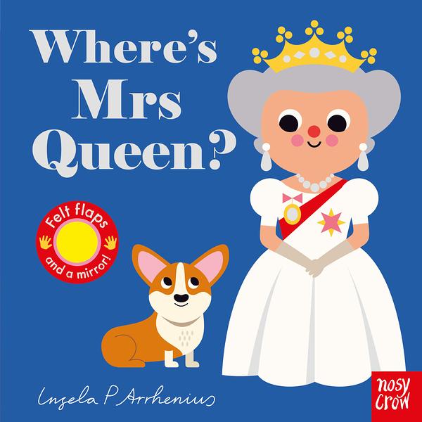 Where's Mrs Queen? 女王在哪裡? 不織布翻翻書