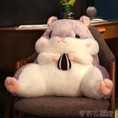一件七折 倉鼠抱枕被子兩用靠背護腰靠墊靠枕辦公室靠背墊椅子 茱莉亞