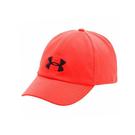Under Armour 帽子 桃紅 女款 運動帽 網球帽 運動 刺繡 logo 六分割帽 可調整式 1272182-963