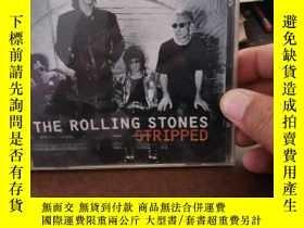 二手書博民逛書店the罕見rolling stones 滾石樂隊 DVDY13693 滾石樂隊