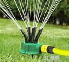 花園自動澆水神器面條灑水器澆花塑料搖臂噴頭園藝灌溉噴淋花灑 3C優購