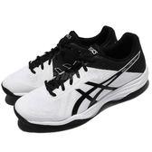 【六折特賣】Asics 排羽球鞋 Gel-Tactic 白 黑 基本款 男鞋 女鞋 【PUMP306】 TVR7160190