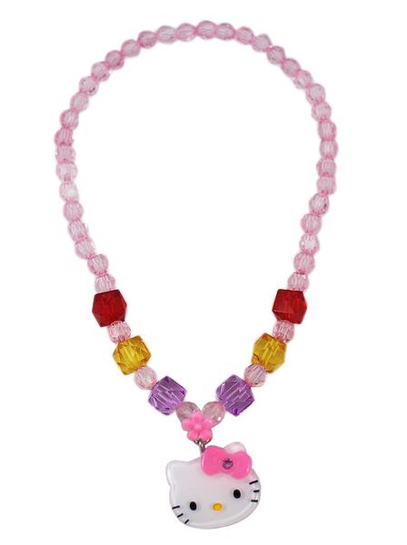 【卡漫城】 Hello Kitty 項鍊 方塊 ㊣版 兒童飾品 玩具 小女孩 扮家家酒 項鏈 凱蒂貓 壓克力 造型
