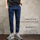 找到自己品牌 時尚潮流 日系 男 休閒簡約 九分褲 小腳褲 牛仔褲 直筒褲