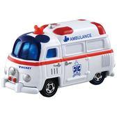 Dream Tomica 多美小汽車 DM-12 Tsum Tsum 迪士尼 米奇救護車