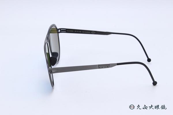 ROAV 偏光太陽眼鏡 Dixon - Mod.8006 ( 鐵灰框/藍水銀 ) 薄鋼折疊墨鏡