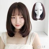 假髮片女長直髮隱形無痕一片式長髮氣質修臉鎖骨髮U型半頭套 LR13358【優品良鋪】