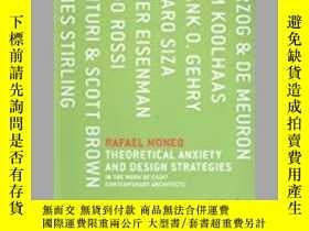 二手書博民逛書店Theoretical罕見Anxiety And Design Strategies In The Work Of