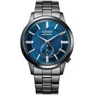 CITIZEN 星辰 NK5009-69N 小秒針復古 機械錶 /藍