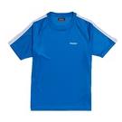 KAPPA義大利 精典型男吸濕排汗短袖衫~寶藍 白304P7S0901