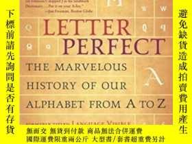 二手書博民逛書店Letter罕見Perfect-完美字母Y436638 David Sacks Broadway Books,