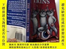 二手書博民逛書店The罕見terrible trins 可怕的三弦琴Y200392