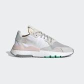 ISNEAKERS ADIDAS NITE JOGGER 女款  慢跑鞋 BOOST 愛迪達 灰粉 綠色 EF8721
