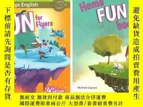二手書博民逛書店英文原版Fun罕見for Flyers 第4版 劍橋小學英語課外