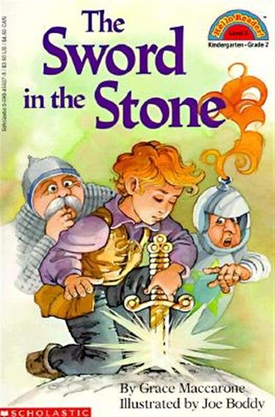 (二手書)Scholastic Reader Level 2: The Sword in the Stone
