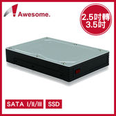 Awesome 2.5吋轉3.5吋 硬碟轉接盒 AWD-MRA263U3 SATA I II III SSD