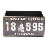 莫爾復古可堆疊小收納盒 數字 18895 LONDON