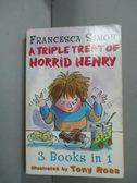 【書寶二手書T6/原文小說_GGE】A Triple Treat of Horrid Henry_Francesca S