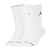 Jordan Everyday Max Socks 襪子 籃球襪 白 飛人 喬丹 三雙入 中筒襪【ACS】 SX5545-100
