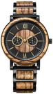 shifenmei【日本代購】復古懷舊木錶 男性腕錶 時尚奢華 超薄-雙色