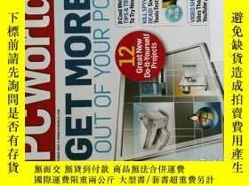 二手書博民逛書店PC罕見WORLD Magazine 2007年10月 英文個人電腦雜誌 可用樣板間道具雜誌Y14610