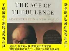 二手書博民逛書店THE罕見AGE OF TURBULENCE:ad ventur