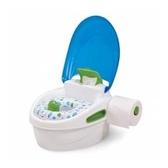 《美國Summer infant》豪華3合1兒童馬桶練習組(藍色)-男女寶寶通用(男用擋板可拆除)