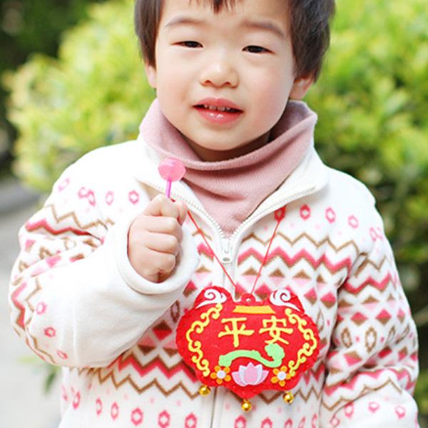 【BlueCat】兒童DIY老虎龍舟香包鈴鐺掛飾 端午節