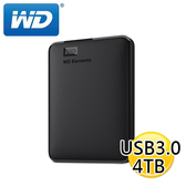 WD Elements 4TB USB3.0 2.5吋 行動硬碟 外接硬碟