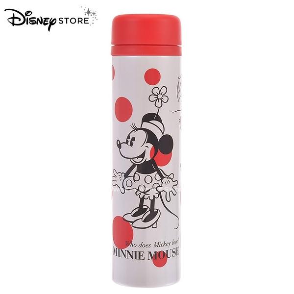 日本 DISNEY STORE 迪士尼商店限定 米妮 點點 Minnie Dots 保溫杯