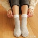 熱銷冬季雪地襪女加絨加厚棉襪中筒保暖月子產后睡眠襪長筒小腿襪 伊鞋本鋪