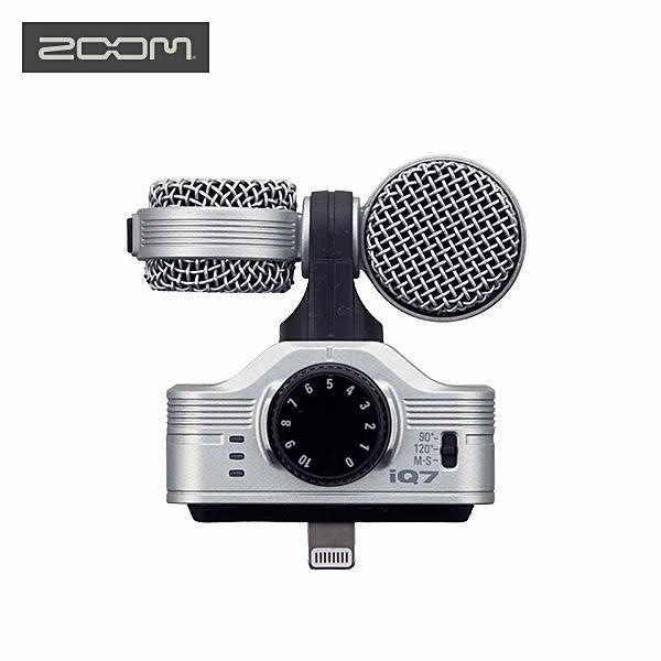 又敗家@日本Zoom銀色iQ7立體聲數位錄音麥克風錄音筆錄音器收音器Apple蘋果iPhone iPod iPad mini 2 3 4 pro