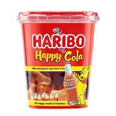 哈瑞寶快樂可樂風味Q軟糖隨手杯175g【愛買】