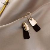 耳環2019新款潮耳飾女韓國氣質簡約法式網紅耳釘2020年復古耳墜