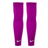 Nike Dri-Fit Sleeves [NRS66600LX] 女 運動 健身 跑步 單車 防曬 輕量 臂套 粉紫
