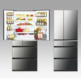 Panasonic國際牌 601L六門變頻冰箱NR-F602VX-X1