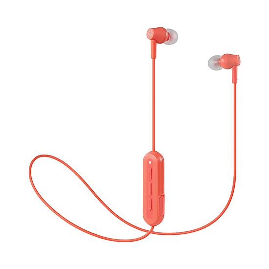 全新 鐵三角ATH-CK150BT藍牙線控耳機 防水運動耳機 櫻花粉 台灣鐵三角公司貨
