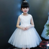 女童洋裝 女童公主裙紗裙夏款小女孩童裝洋氣蓬蓬紗兒童夏裝裙子兒童連衣裙【中秋節預熱】