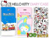 iae創百市集【HELLO KITTY 】蘋果iPhone5 可插卡書本式手機套 平輸正版 KT