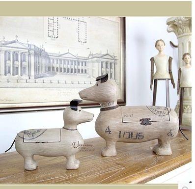 美式鄉村家居裝飾品一對-FD9454