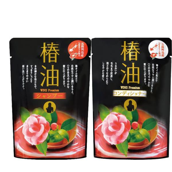 日本椿油山茶花補充包洗髮精/潤髮乳400ml