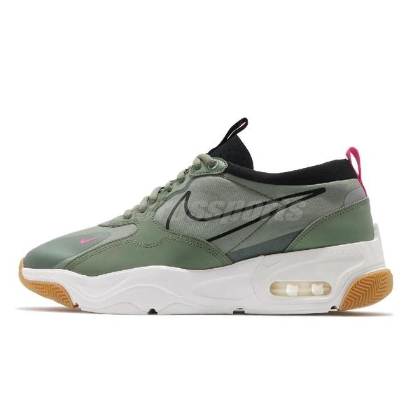 Nike 慢跑鞋 Skyve Max 綠 軍綠 黑 男鞋 The 10th 氣墊 運動鞋 【ACS】 BQ4432-300