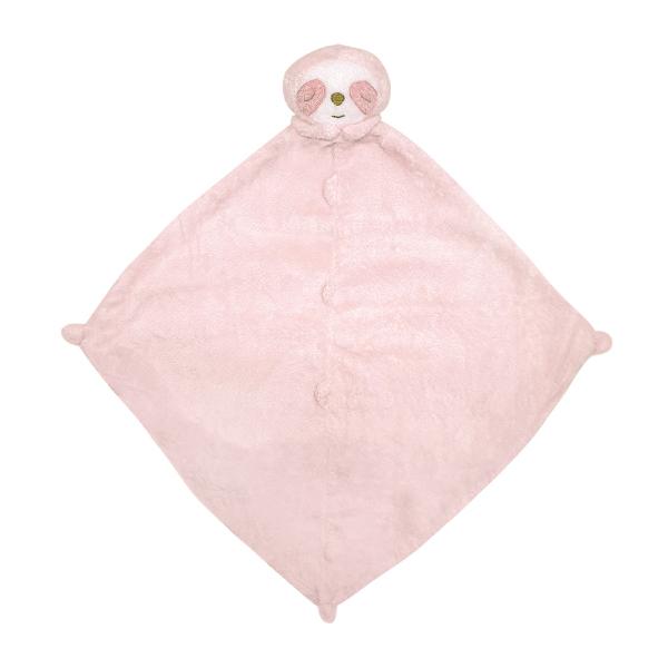 美國Angel Dear 動物嬰兒安撫巾 粉紅小樹懶