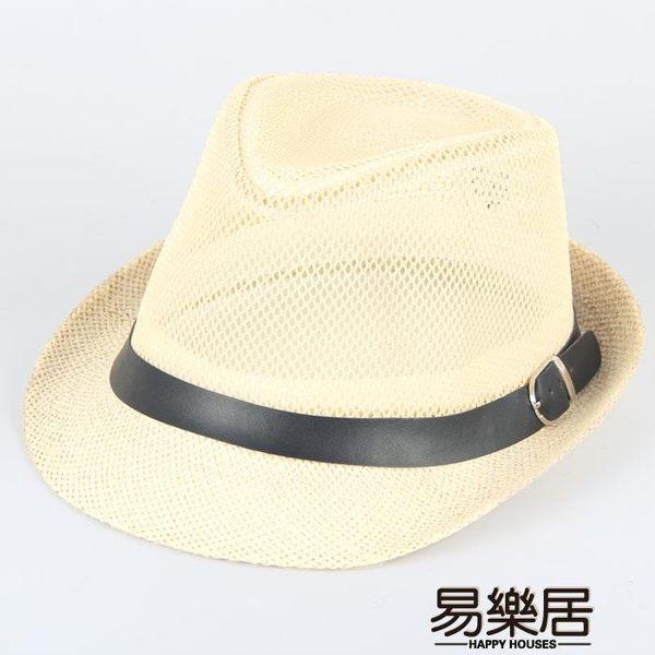 紳士帽夏季帽子男士禮帽爵士帽