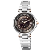 CITIZEN XC真鑽星空電波光動能腕錶/EC1010-90X