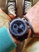 戶外錶 男士運動電子表潮男大表盤嘻哈手錶戶外多功能防水手錶學生表正品 非凡小鋪