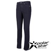 PolarStar 彈性涼感牛仔長褲 女 顯瘦直筒牛仔褲│釣魚褲│露營│防曬褲 P16320