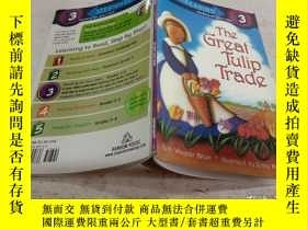 二手書博民逛書店The罕見Great Tulip Trade (Step into Reading, Level 3)[郁金香交易