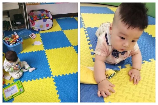 40片裝泡沫地墊拼圖地毯臥室鋪地板墊